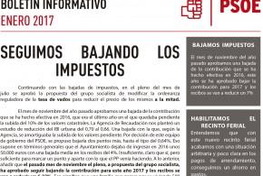 Boletín informativo – Enero 2017