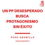 UN PP DESESPERADO BUSCA PROTAGONISMO SIN ÉXITO-PUBLICACIÓN